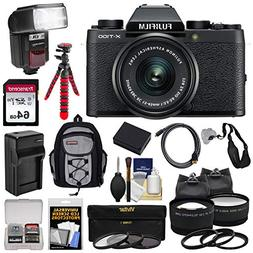 Fujifilm X-T100 Digital Camera & 15-45mm XC OIS PZ Lens  wit