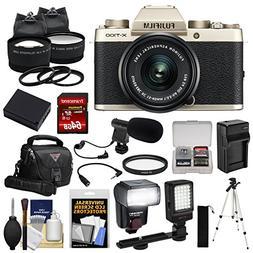 Fujifilm X-T100 Digital Camera & 15-45mm XC OIS PZ Lens  wit