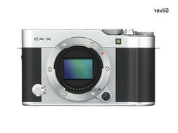 Fujifilm X-A3 Mirrorless 24.2 MP Digital Camera - Silver  Br