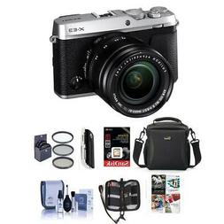 Fujifilm X-E3 Mirrorless Camera W/XF 18-55mm f/2.8-4 R LM OI