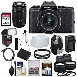 Fujifilm X-T100 Digital Camera & 15-45mm XC OIS PZ  & 50-230