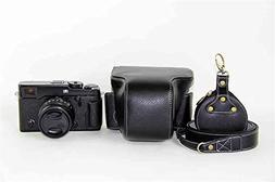 X-Pro2 Case, BolinuUS Handmade Genuine Real Leather Full Cam
