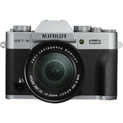 Fujifilm X-T20 Mirrorless Digital Camera - Silver with 16-50