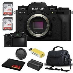 FUJIFILM X-T4 Mirrorless Digital Camera  Accessory Kit