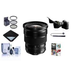 Fujifilm XF 10-24mm  F4.0 OIS Lens, Black - Bundle with 72mm