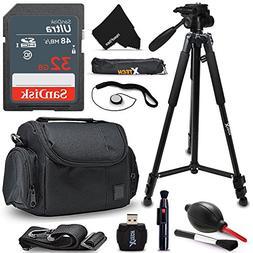 Xtech 32GB Memory Card Kit + Premium Camera Case + Pro Serie