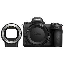 Nikon Z6 Mirrorless Digital Camera Body 24.5 MP Full-Frame &